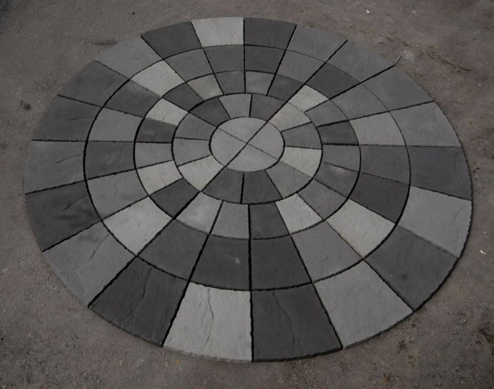 3460mm Rotunda Slate Blend